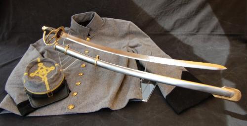 Sabre ACW - SLK8 - Civil War Field Staff Officers Confederate CS Sword - EN STOCK