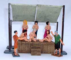 Roman Small Slave Market-Set - pas de stock