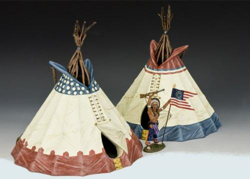 TRW064 and TRW083 - Sioux Indian Tepee
