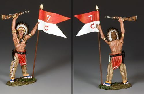 TRW132 - War Bonnet with Guidon