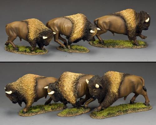 TRW159 - Running Buffalo Set 1