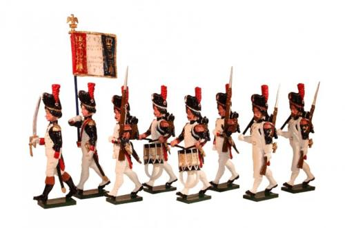 Tradition of London - 768 - French Grenadiers of the Guard, Head of Column Painted - EN STOCK