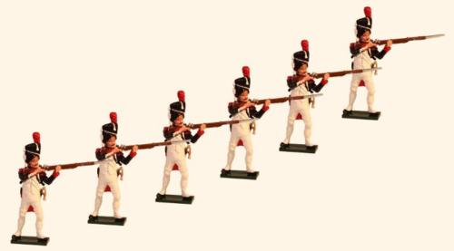 Tradition of London - 774 - French Grenadiers of the Guard Standing Firing Painted - EN STOCK