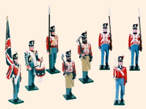 Tradition of London - B1E - British Line Infantry Painted - EN STOCK