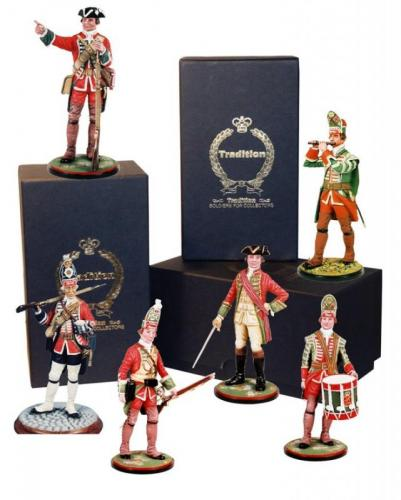Tradition of London - Model Soldiers 90mm British Army 1747-1794
