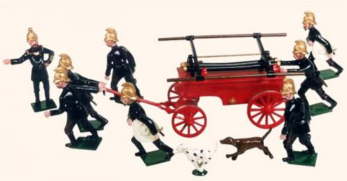 Tradition of London - VS1A -The Volunteer Fire Brigade - EN STOCK