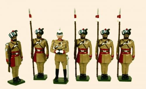 Tradition of London - set N° 044 - Corps of Guide Cavalry 1900  Painted - EN STOCK