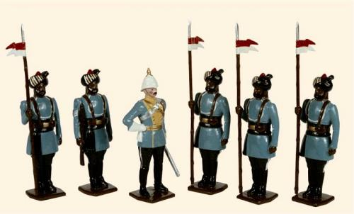 Tradition of London - set N° 046 - 28th Light Cavalry 1903 Painted - EN STOCK
