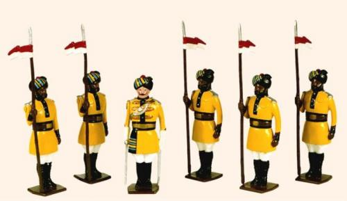 Tradition of London - set N° 07a - 1st Bengal Lancers 1901 - EN STOCK