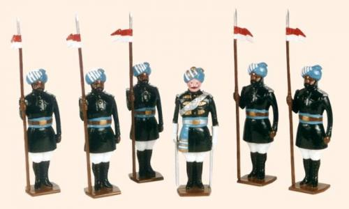Tradition of London - set N° 07b - 17th Bengal Lancers 1901 Painted - EN STOCK