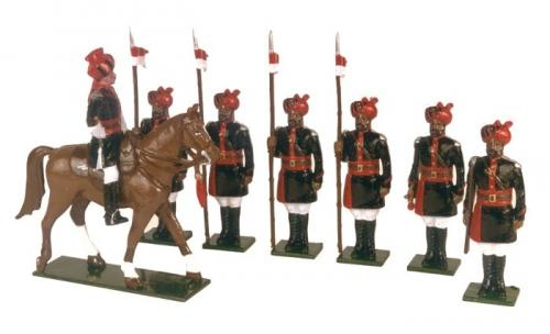 Tradition of London - set N° 080 - 25th Cavalry India Frontier Force 1910 Painted - EN STOCK