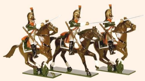 Tradition of London - set N° 712 -  French Line Dragoons 1812, Painted - EN STOCK
