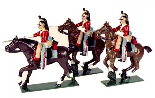 Tradition of London - set N° 734 - The 6th Inniskilling Dragoons, Painted - EN STOCK