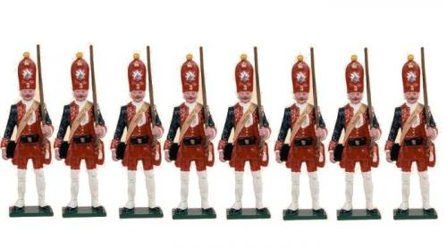 Tradition of London - set N° PG2 - Potsdam Giant Grenadiers, Painted - EN STOCK