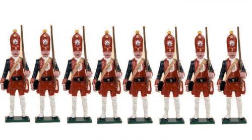 Tradition of London - set N° PG2 - Potsdam Giant Grenadiers, Painted - EN STOCK