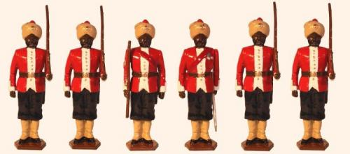 Tradition of London - set N°  070 - 8th Madras Native Infantry 1890 Painted - EN STOCK