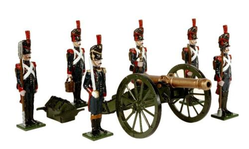 Tradition of London - N2A - French Foot Artillery of the Imperial Guard 1810 Painted - EN STOCK