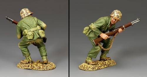USMC027 - Crouching Marine