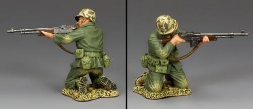 USMC028 - US Kneeling B.A.R. Gunner