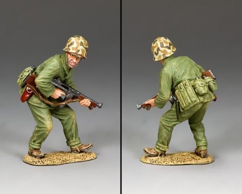 USMC035 - Crouching Tommy-Gunner - disponible mi-novembre