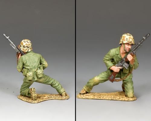 USMC038 - Kneeling BAR Gunner - disponible mi-novembre