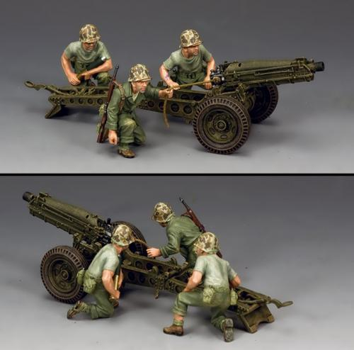 USMC041 - USMC 75mm Pack Howitzer and Care