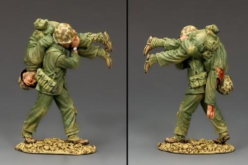 USMC043 - Hold on Buddy ... We are almost there