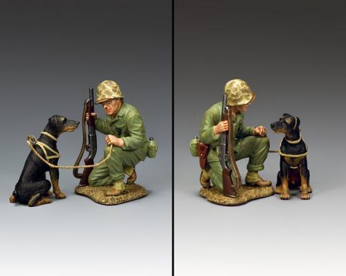 USMC052 - Pacific War Dog - disponible début mars