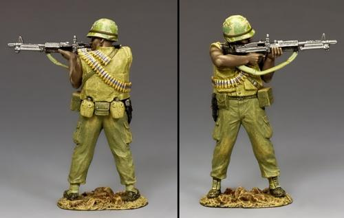 VN007 - Vietnam US, Machine Gunner