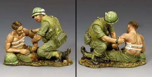 VN009 - Corpsman and Wounded Marine