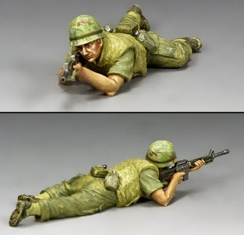 VN012 - Marine Lying Prone Firing