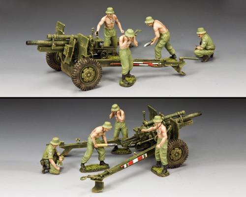 VN076 - The Anzac 105mm Gun  Crew Set - disponible début mars