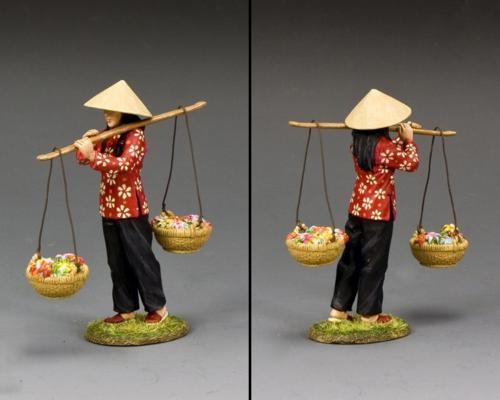 VN085 - Vietnam Flower Girl - disponible début novembre