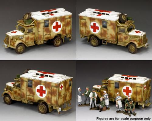 WH004 - Opel Blitz Ambulance (Camouflage)