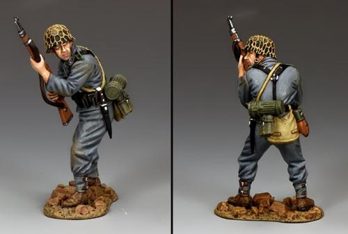 WH078 - Standing Ready panzer Grenadier