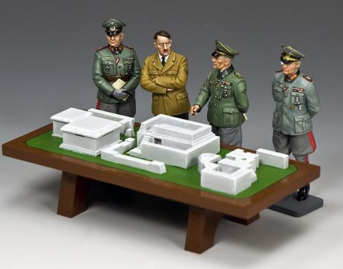 WH093 - Hitler, Rommel, Walter Model, Sepp Dietrich and the Atlantic Wall - disponible début janvier 2019