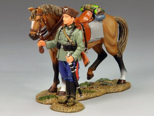 WS147 - Standing Cossack and Horse