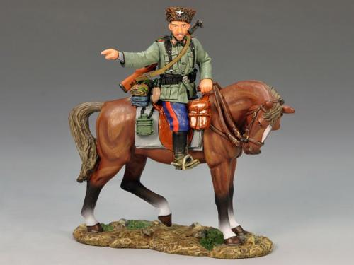 WS148 - Mounted Cossack Pointing