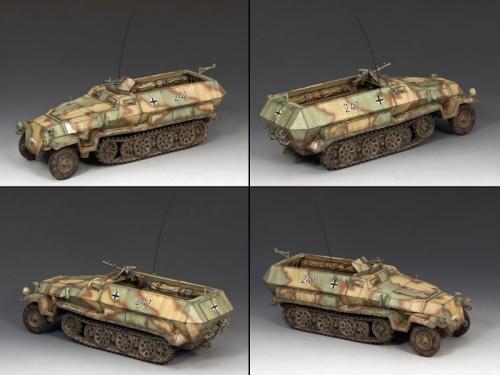 WS218 - Sd.Kfz 251 Half Track (version camouflée)