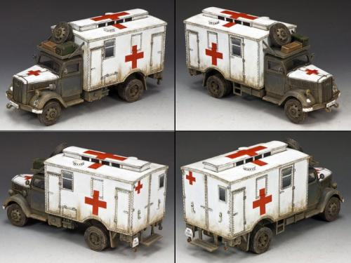 WS258 - Opel Blitz Field Ambulance