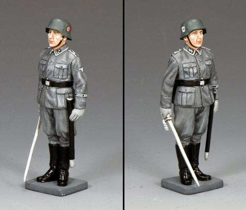 WS339 - Waffen SS NCO at Attention