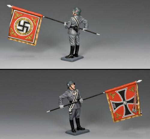 WS341 - Waffen SS Flagbearer