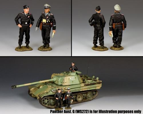 WS342 - Standing Tiger Crewmen