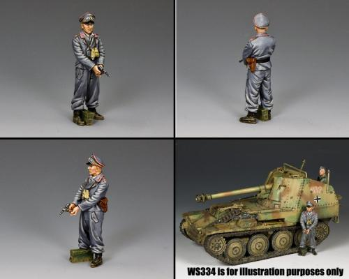 WS343 - SPG Officer with Pistol