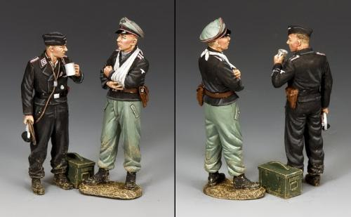 WS346 - Dismounted German Tank Crew, set 1