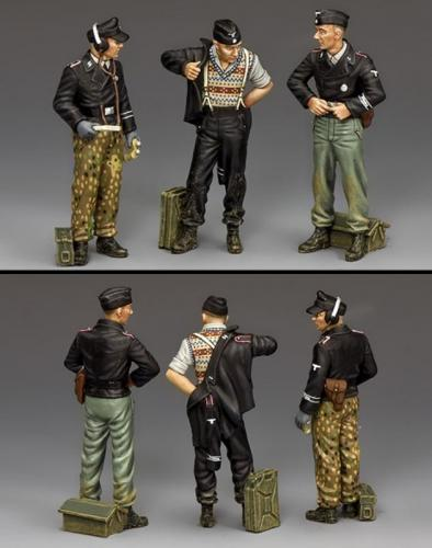 WS347 - German Dismounted Tank Crew, Set 2