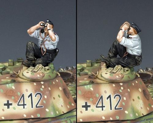 WS353 - Sky-Watching Panzer Crewman - disponible début août