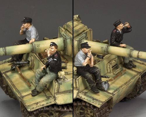 WS354 - Relaxing Panzer Crewmen - disponible début août