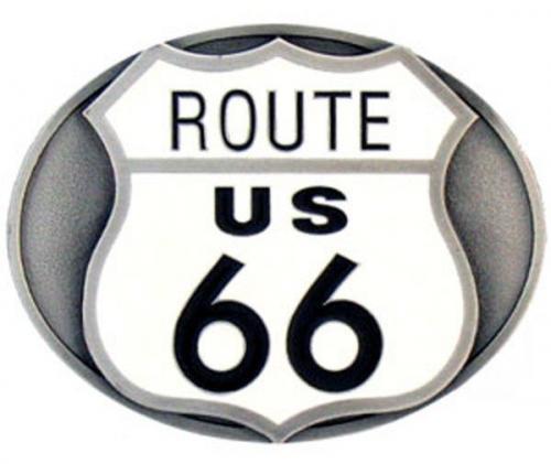 Boucle de ceinture - Belt Buckle E-3  Highway 66