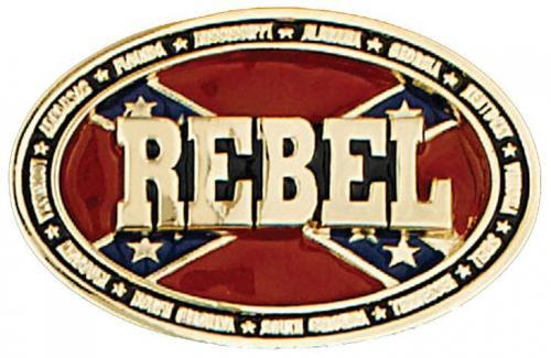 Boucle de ceinture - Belt Buckle ME-37-G Rebel Gold